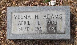 Velma H. Adams
