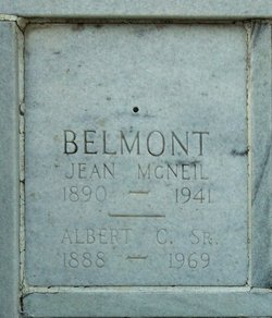 Albert C Belmont, Sr