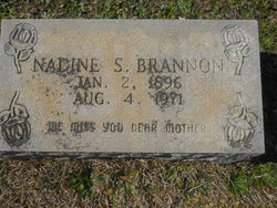 Nadine <i>Souther</i> Brannon