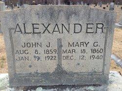 Mary <i>GoForth</i> Alexander