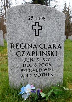 Regina Clara <i>Zadaniecki</i> Czaplinski