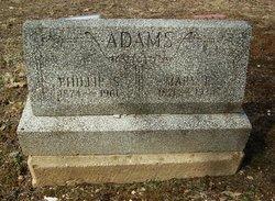 Mary E <i>Hinson</i> Adams