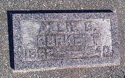 Allie Grant <i>Kincade</i> Burkett