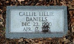 Calilly Lillie <i>Fulford</i> Daniels