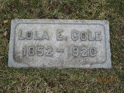 Lola E. Cole