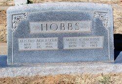 Mrs Mary Caroline <i>Tannahill</i> Hobbs