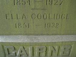 Ella <i>Coolidge</i> Cairns