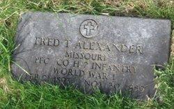 Frederick Rufus Todd Alexander