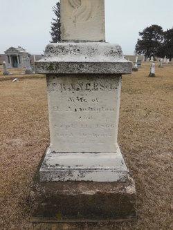 Frances L <i>Verry</i> Armington