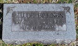 Maude <i>Hedge</i> Billings