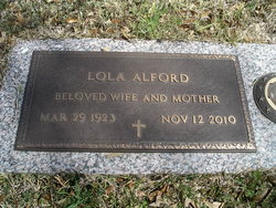 Lola Mae <i>Casey</i> Alford