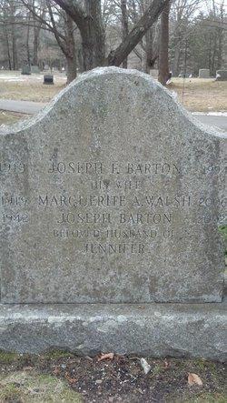Joseph F Barton