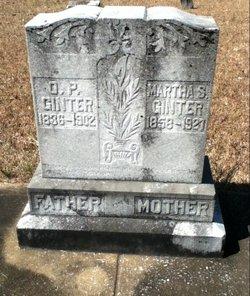 Martha Mattie <i>Hillman</i> Ginter