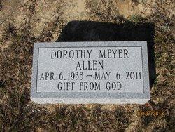Dorothy Meyer <i>Felsher</i> Allen