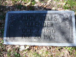 Lucy <i>Wells</i> Allender