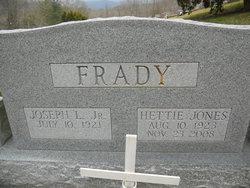 Hettie <i>Jones</i> Frady