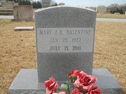 Mary Frances Meg <i>Hughes</i> Balentine