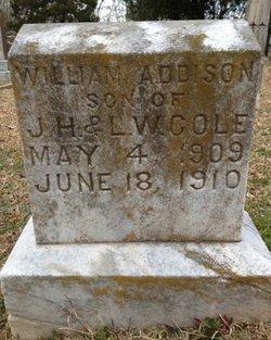 William Addison Cole