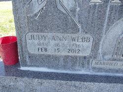 Judy Ann <i>Webb</i> Pack