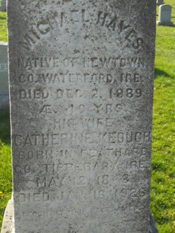 Catherine <i>Kegugh</i> Hayes
