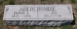 Fannie E. Fannie <i>Crouch</i> Abercrombie
