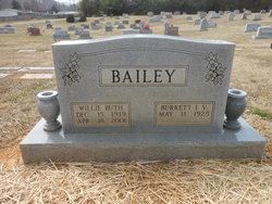 Willie Ruth <i>Land</i> Bailey