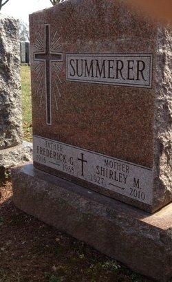 Frederick G. Fritz Summerer