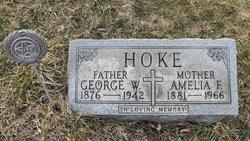 George W Hoke