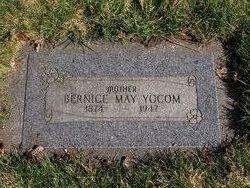 Bernice May <i>Flemming</i> Yocum