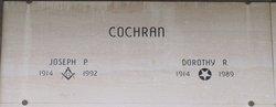 Joseph P Cochran