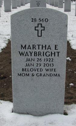 Martha E <i>Heisey</i> Waybright