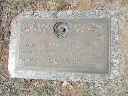 Mattie Ree <i>Naron</i> Cummings