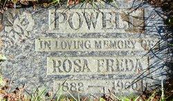 Rosa Freda <i>Mack</i> Powell