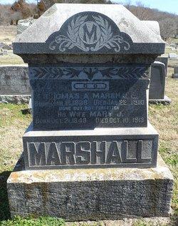 Mary Jane <i>Kirk</i> Marshall