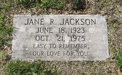 Jane R. Jackson