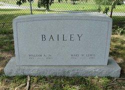 Mary W <i>Lewis</i> Bailey