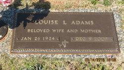 Louise L Adams