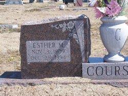 Esther M Courson