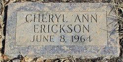 Cheryl Ann Erickson