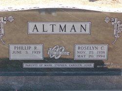 Roselyn C <i>Dome</i> Altman
