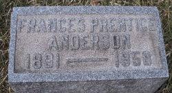 Frances <i>Prentice</i> Anderson