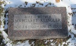 Margaret Lorraine Klingler