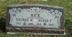 Agnes T Rice