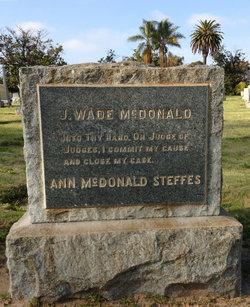 John Wade McDonald