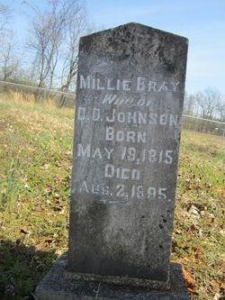 Malinda Millie <i>Bray</i> Johnson