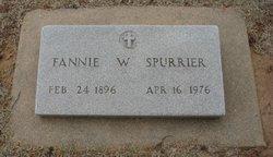 Fannie Myrtle <i>Watson</i> Spurrier