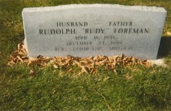 Rudolph Rudy Foreman