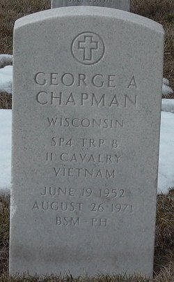 Spec George Anthony Chapman