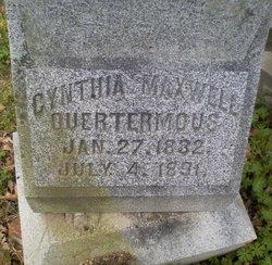 Cynthia Ann <i>Maxwell</i> Quertermous