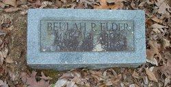 Buelah <i>Pruden</i> Elder